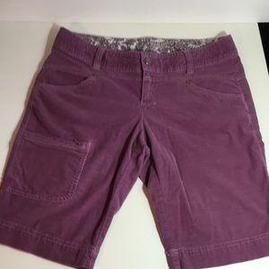 Athleta Corduroy Shorts 10